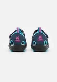 Kamik - CRAB UNISEX - Walking sandals - navy teal/marine bleu sarcelle - 2