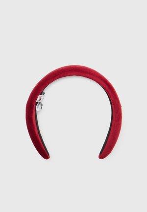 ELEVATED HEADBAND VELVET - Hair styling accessory - regatta red