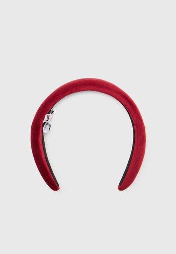 ELEVATED HEADBAND VELVET - Akcesoria do stylizacji włosów - regatta red