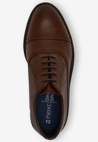 Next - Zapatos con cordones - tan - 3