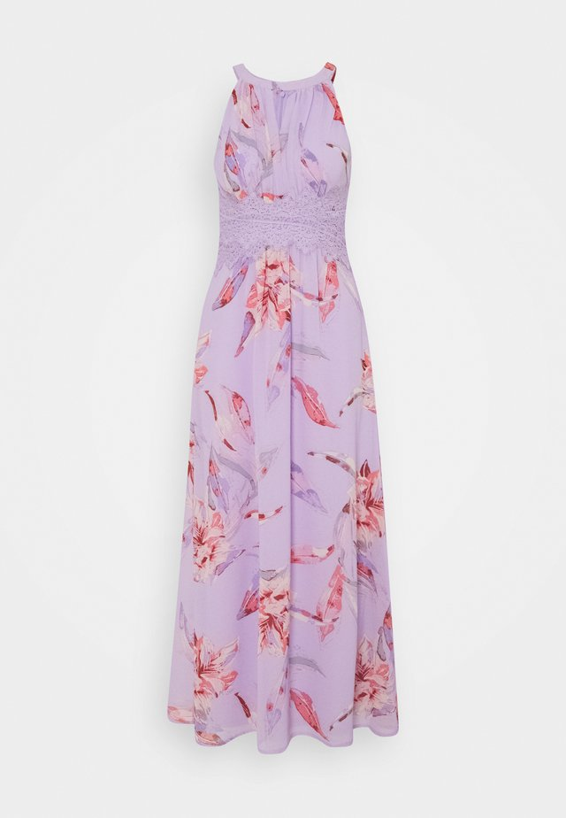 VIMILINA FLOWER MAXI DRESS - Maxi šaty - orchid petal