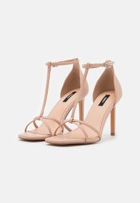 ONLY SHOES - ONLALYX T-BAR - Sandály - beige - 2
