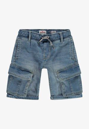 CELDO - Denim shorts - blue vintage