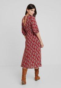 Louche - RILEY PAISLEY - Maxi dress - red - 3