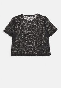 VMANILA CROPPED - Print T-shirt - black