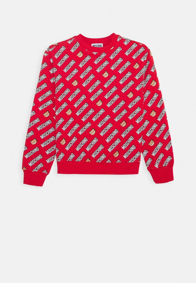 MOSCHINO - Sweatshirt - poppy red
