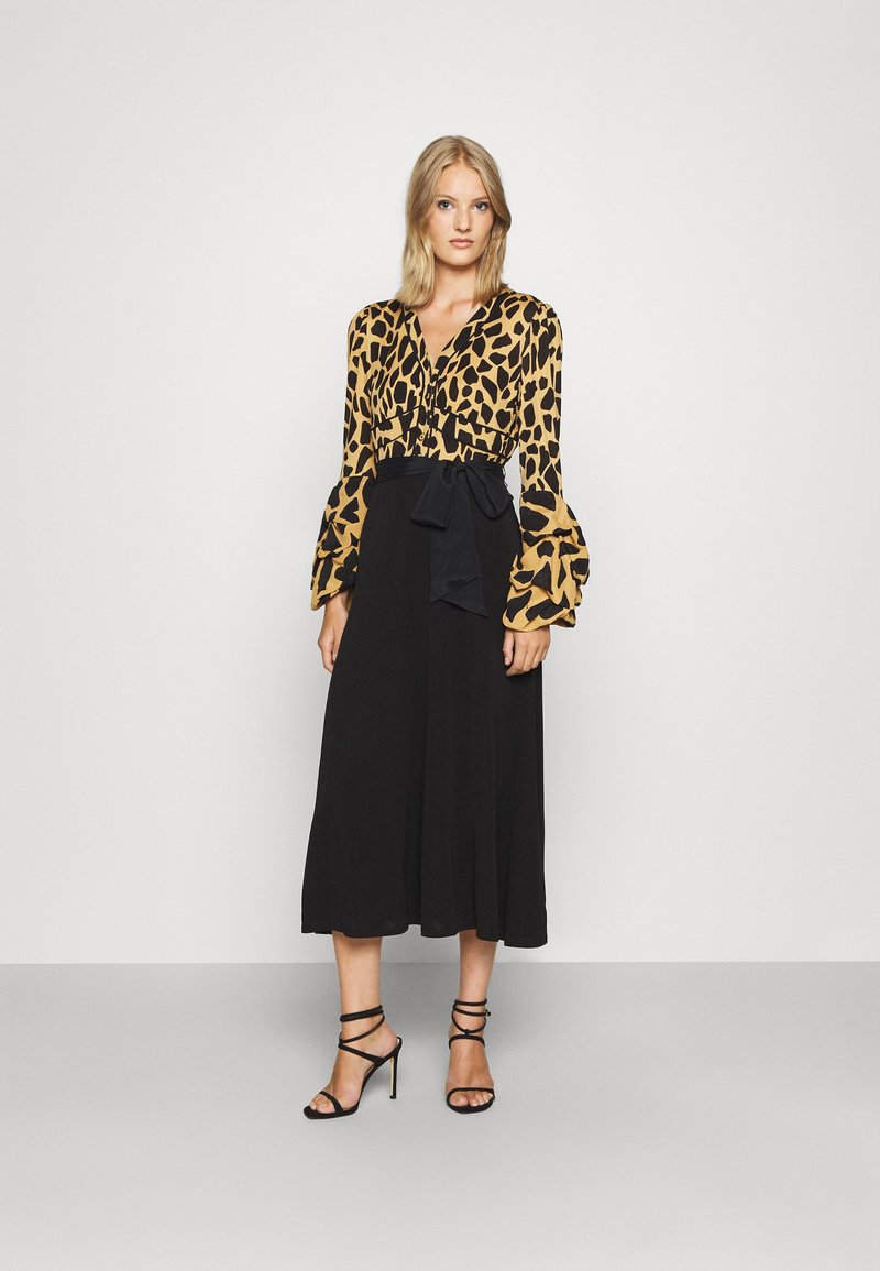 Diane von Furstenberg - NANCY DRESS - Cocktail dress / Party dress - large natural/black
