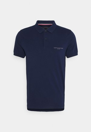 CLEAN SLIM - Polo shirt - yale navy