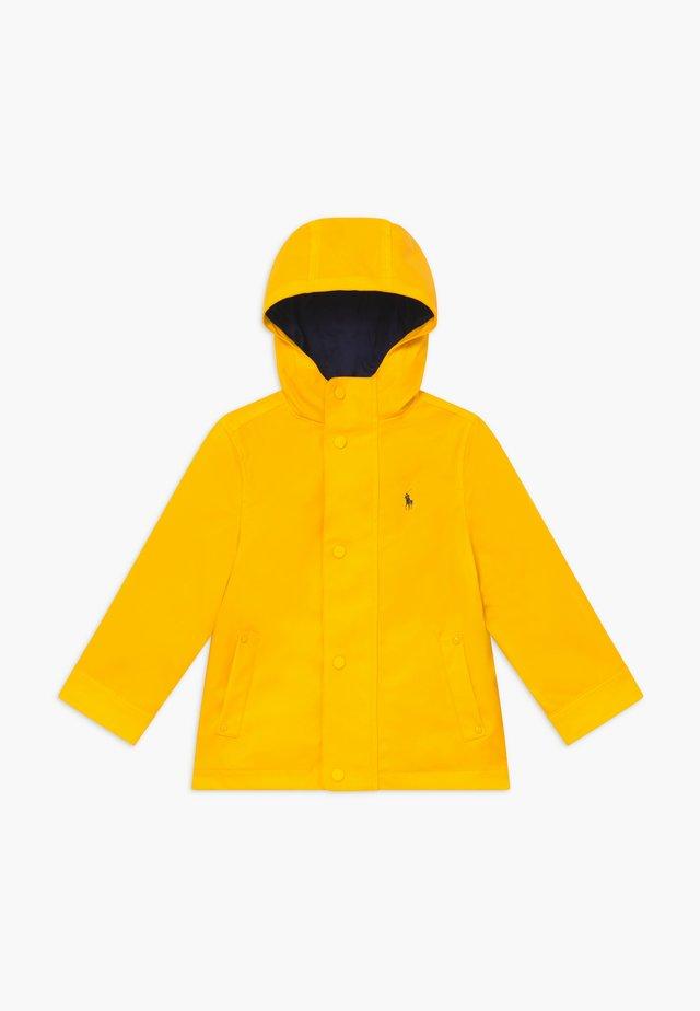 Regenjas - yellow fin