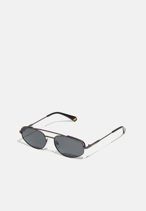 UNISEX - Sunglasses - matte dark ruthenium