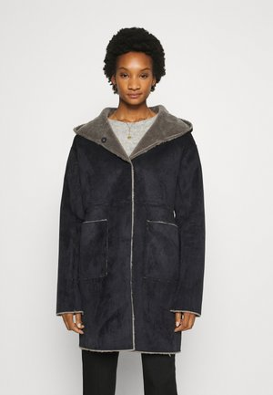 MARICE  - Classic coat - navy/grey