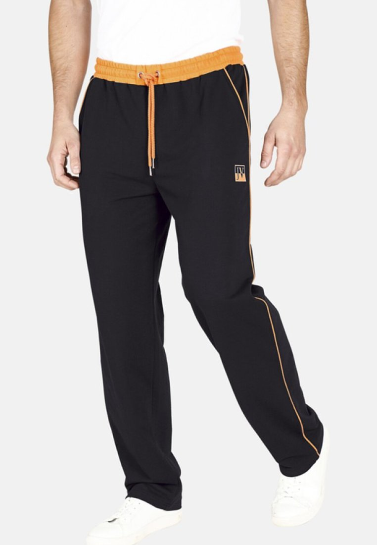 Jan Vanderstorm - RENTIUS - Tracksuit bottoms - black