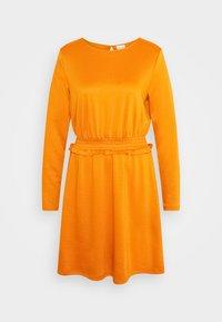 Vila - VITINNY WAIST DETAIL DRESS CAMP - Vestito estivo - pumpkin spice - 3