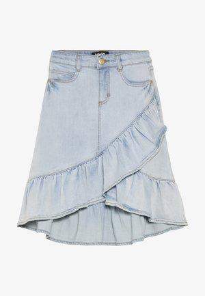 BELINDA - A-line skirt - even pale wash