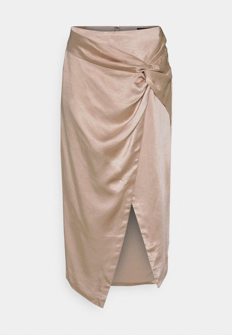 Mossman - KISS SKIRT - A-line skirt - champagne