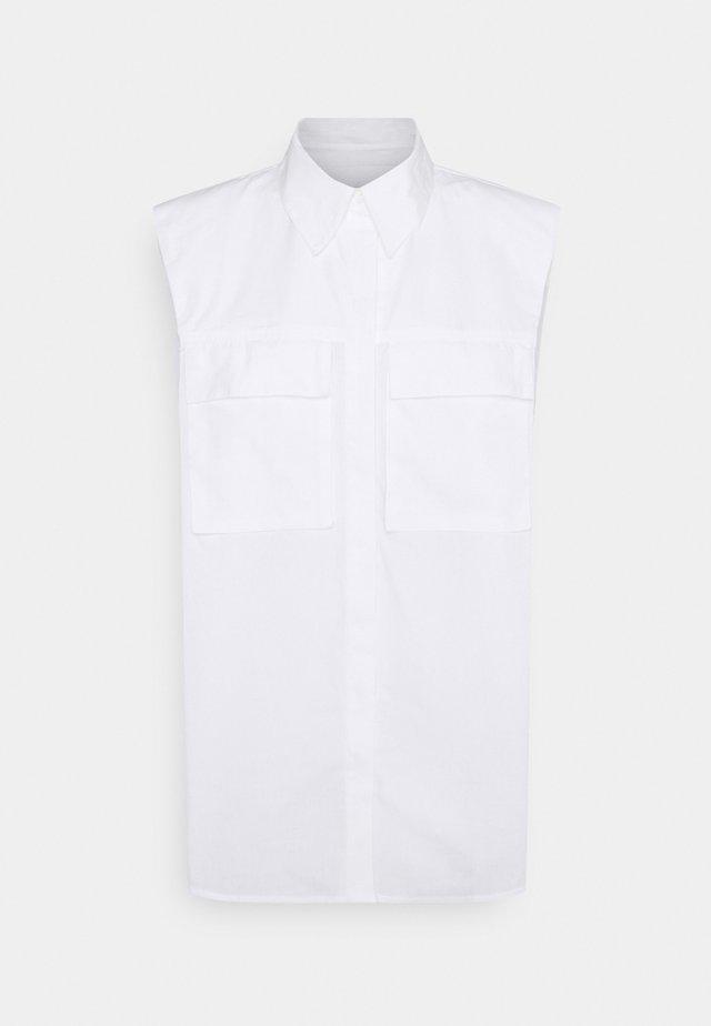 ONLASHLEY  SHOULDERPAD SHIRT - Camicia - white