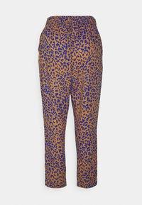Dedicated - PANTS SKAGEN LEOPARD - Trousers - chipmunk - 1