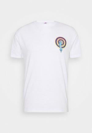 ROSKOPP DOT UNISEX - T-shirt imprimé - white