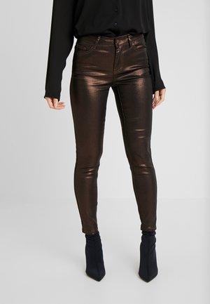 VIGLITTIE 7/8 PANTS - Spodnie materiałowe - puce