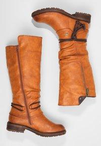 Rieker - Zimní obuv - cayenne choco - 2