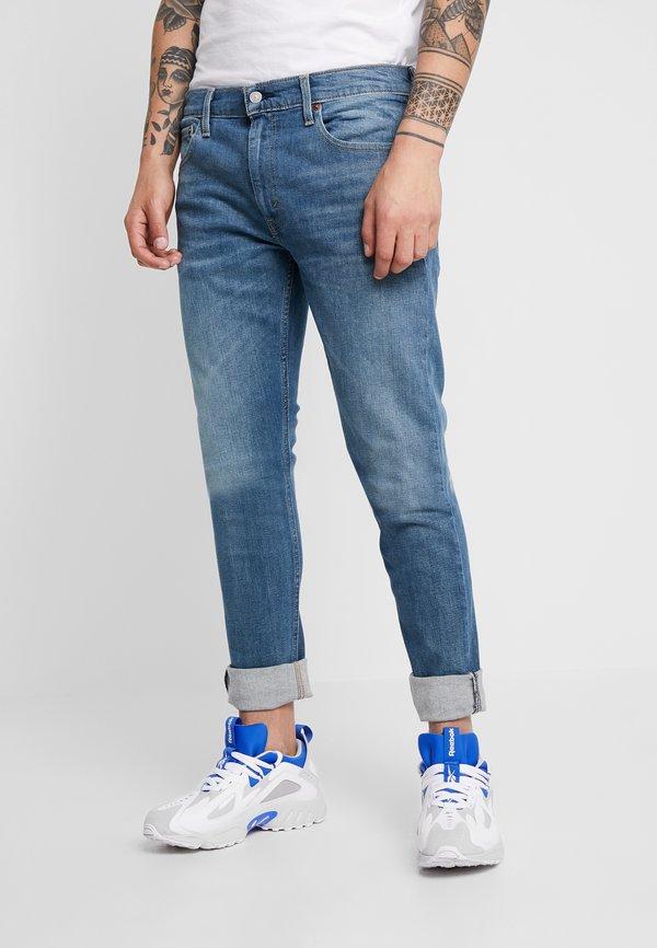 Levi's® 512 SLIM TAPER LO BALL - Jeansy Slim Fit - blue denim/niebieski denim Odzież Męska BIBS