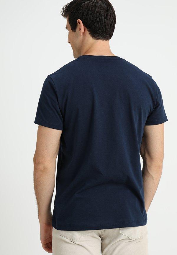 Pepe Jeans EGGO - T-shirt z nadrukiem - 595/granatowy Odzież Męska YCEO