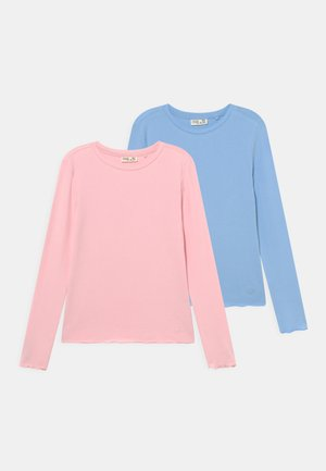 TEEN  2 PACK - Long sleeved top - pink dogwood/airy blue
