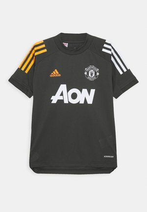 MANCHESTER UNITED AEROREADY FOOTBALL  - Klubové oblečení - olive