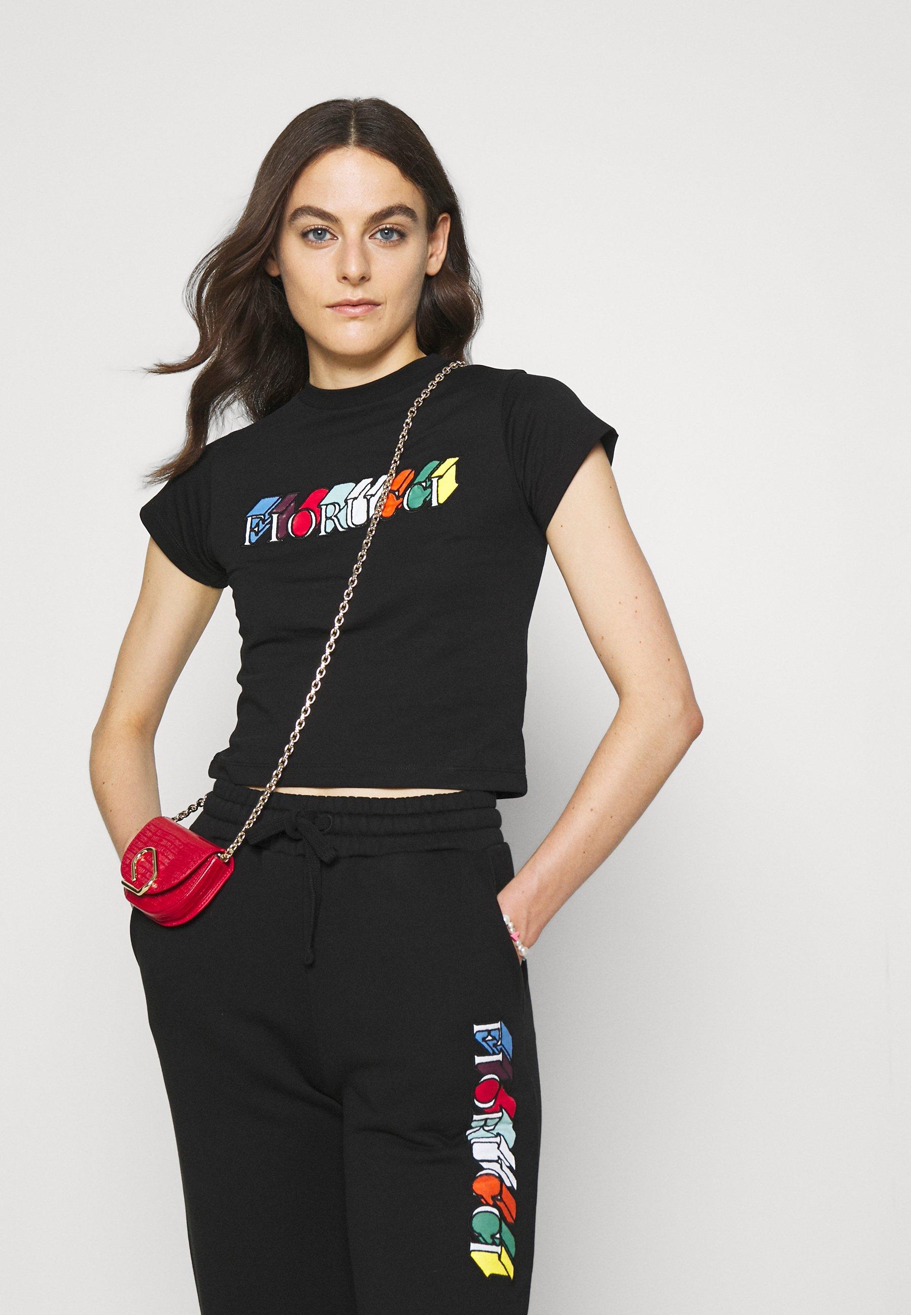 Women MONO LOGO CROP TEE - Print T-shirt