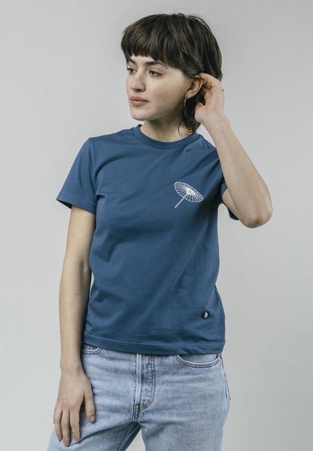 THE OSAKA PARASOL - T-shirt imprimé - blue