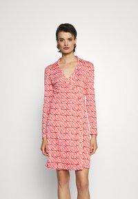Diane von Furstenberg - NEW JEANNE - Jersey dress - ibiza red - 0