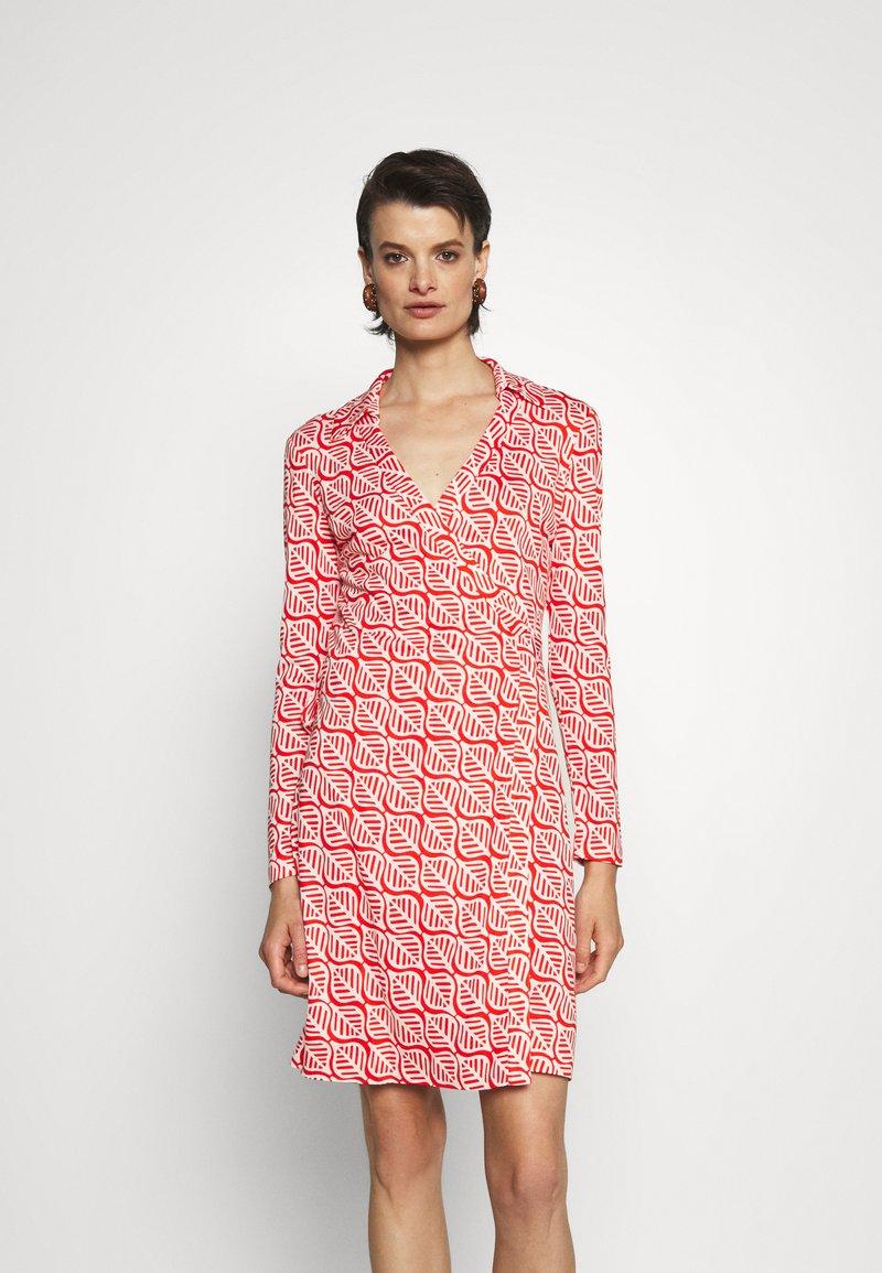 Diane von Furstenberg - NEW JEANNE - Jersey dress - ibiza red