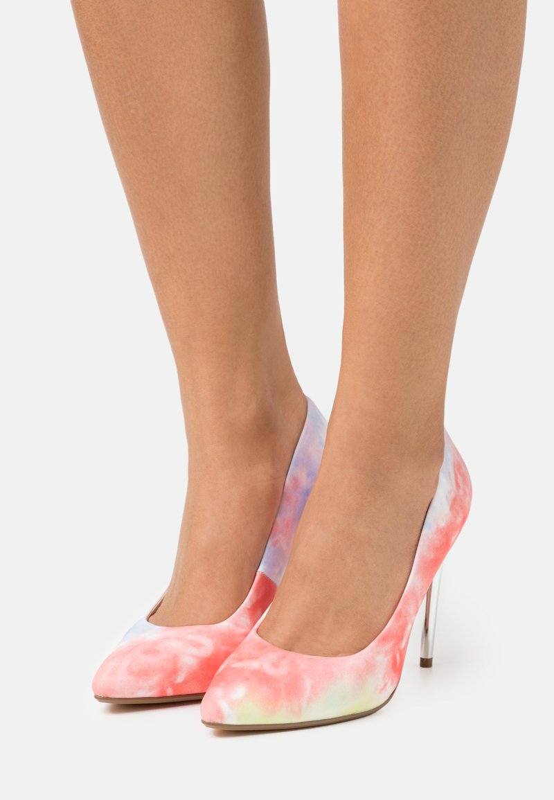Buffalo - ROSELLE - Classic heels - coral