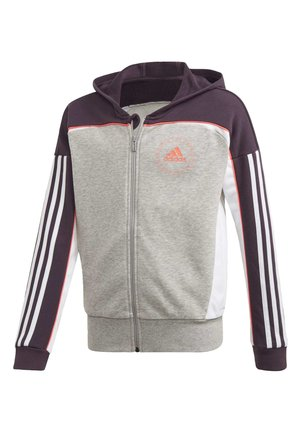 BOLD FULL-ZIP HOODIE - Zip-up hoodie - grey