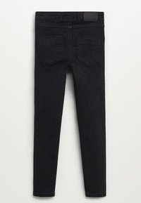 Mango - SUPERSK - Jeans Skinny Fit - black denim - 1