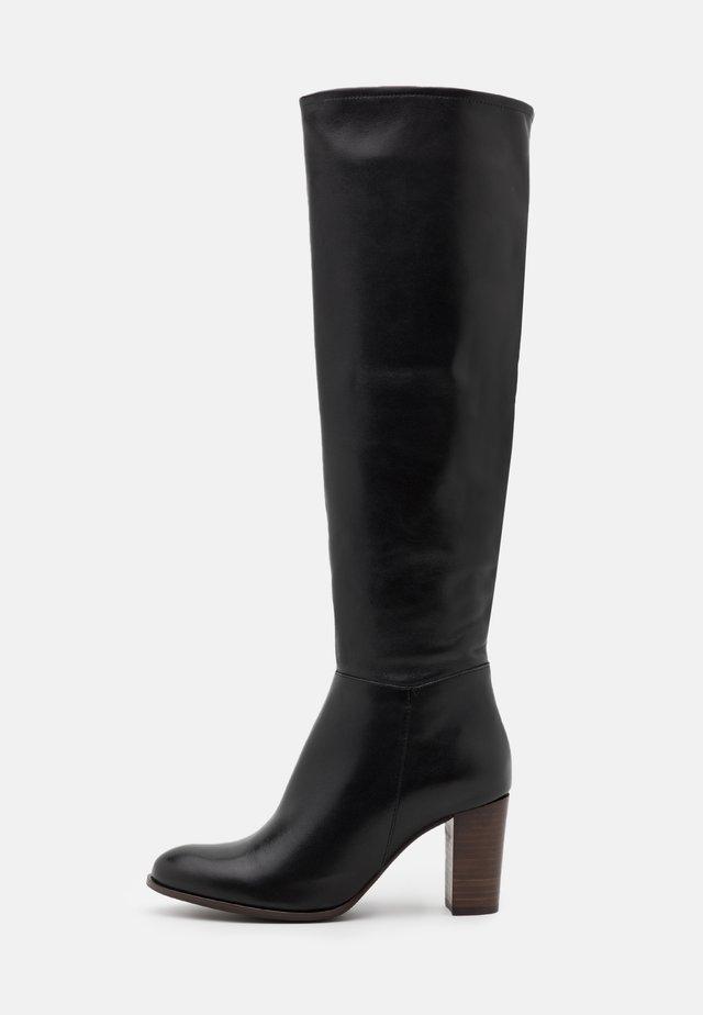 AULITA - Vysoká obuv - noir
