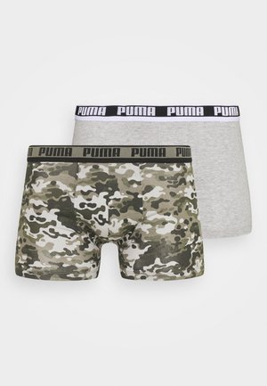MEN CAMO BOXER 2 PACK - Bokserit - green combo