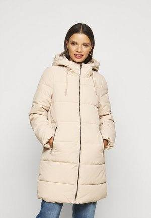 ONLDOLLY LONG PUFFER COAT - Vinterfrakker - humus