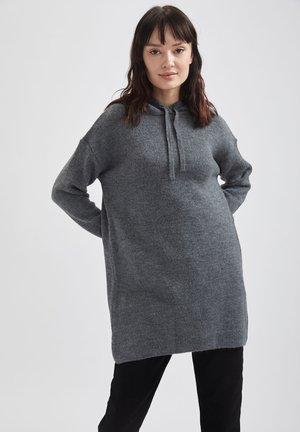 RELAX FIT - Hoodie - anthracite