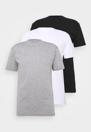MULTI TEE AUTUMN 3 PACK - T-shirt basic - multi