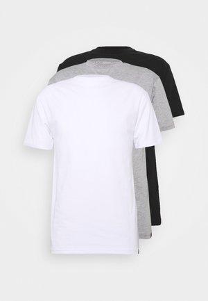 MULTI TEE AUTUMN 3 PACK - T-shirt - bas - multi