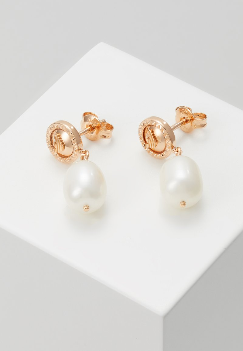 Emporio Armani - ESSENTIAL - Earrings - rose gold-coloured