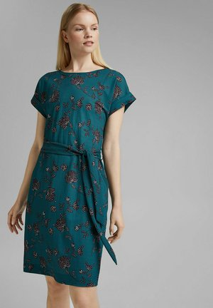 Day dress - teal green