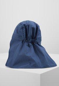 pure pure by BAUER - KIDS MIT NACKENSCHUTZ UNISEX - Hat - dark blue - 2