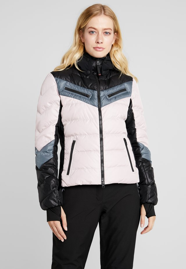 FARINA - Ski jacket - pink/black