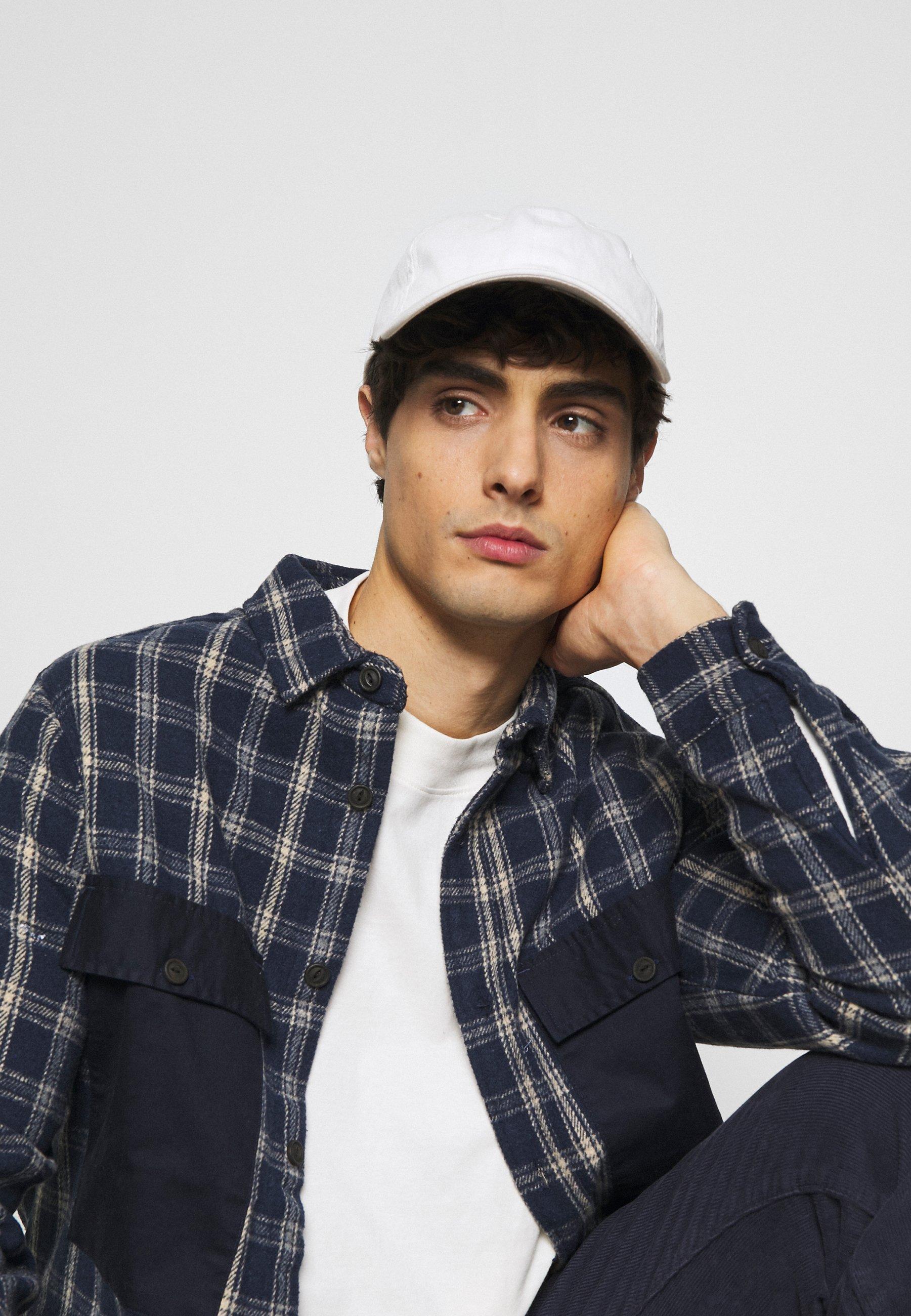 Men HIGH COLLAR - Long sleeved top