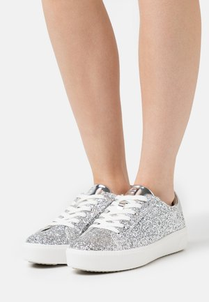 Sneakers laag - silver glam