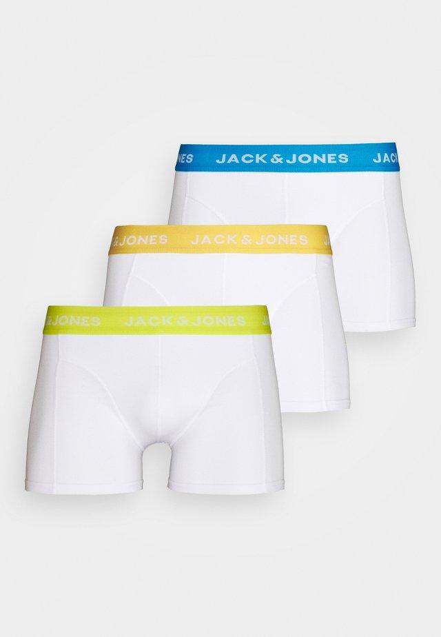 JACMIGUEL TRUNKS 3 PACK - Alushousut - bright white