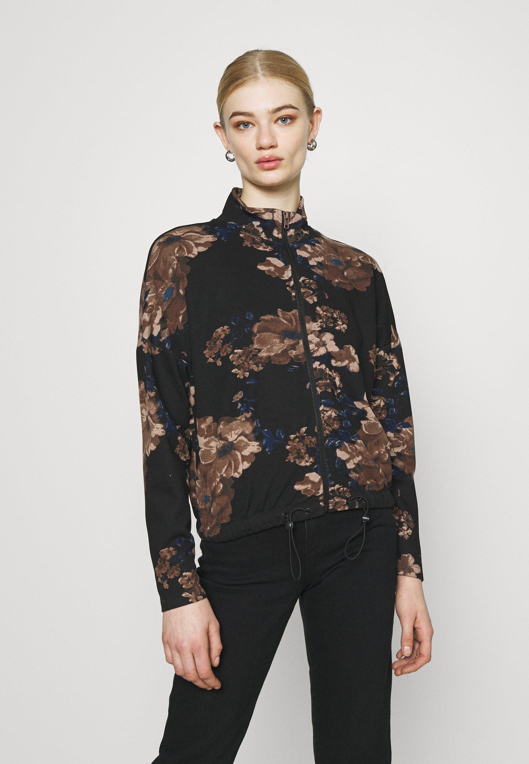 Women ONLALICE ZIP - Zip-up sweatshirt