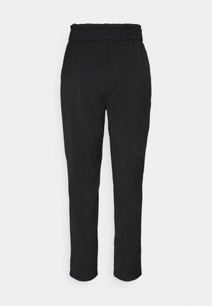ONLNORAH FRILL PANT - Pantalones - black